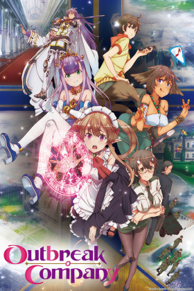 Capa do anime Outbreak Company
