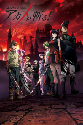 Capa do anime Akame ga Kill!