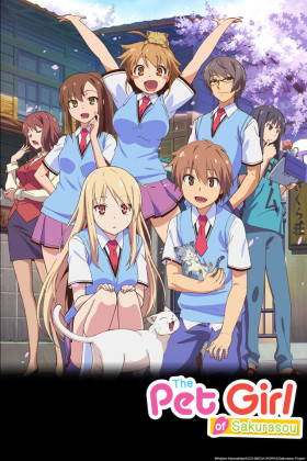 Capa do anime Sakurasou no Pet no Kanojo