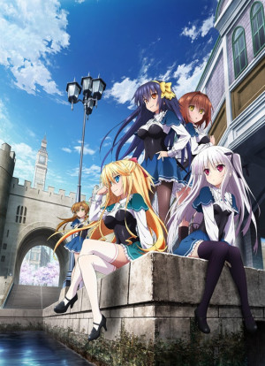 Capa do anime Absolute Duo