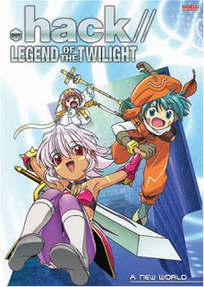 Capa do anime .hack//DUSK