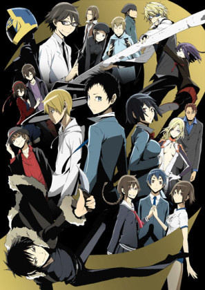 Capa do anime Durarara!!x2 Shou