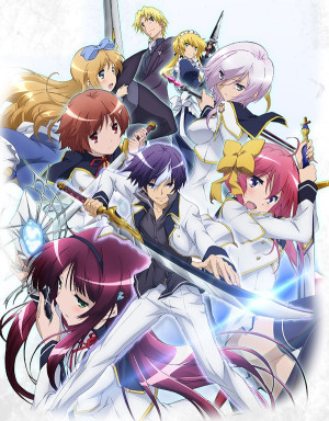 Capa do anime Seiken Tsukai no World Break