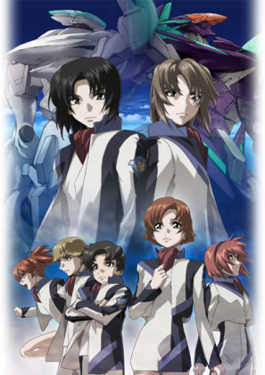 Capa do anime Soukyuu no Fafner: Exodus