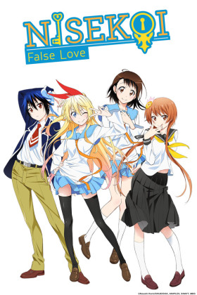 Capa do anime Nisekoi