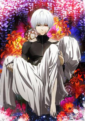 Capa do anime Tokyo Ghoul √A 2° Temporada