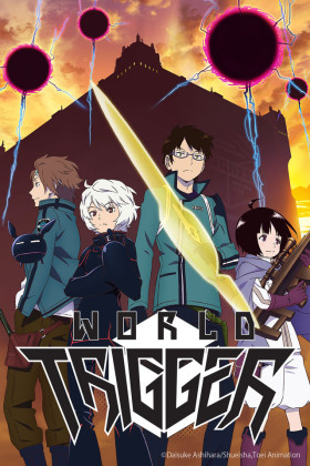 Capa do anime World Trigger
