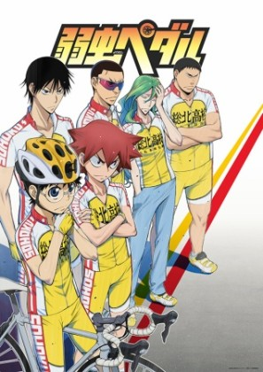 Capa do anime Yowamushi Pedal
