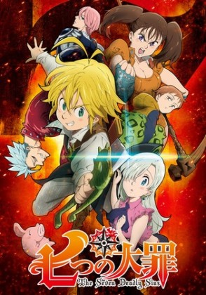 Capa do anime Nanatsu no Taizai