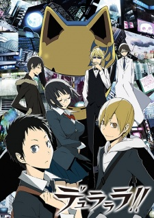 Capa do anime Durarara!!