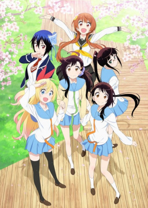 Capa do anime Nisekoi: 2° temporada