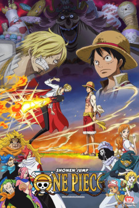 Capa do anime One Piece