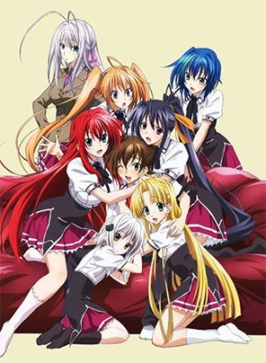 Capa do anime High School DxD BorN 3° Temporada