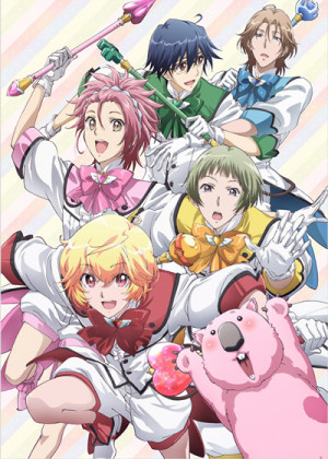 Capa do anime Binan Koukou Chikyuu Bouei-bu Love!