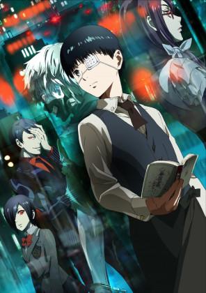 Capa do anime Tokyo Ghoul