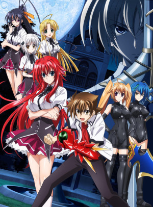 Capa do anime High School DxD New 2° temporada