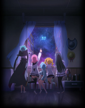 Capa do anime Houkago no Pleiades TV