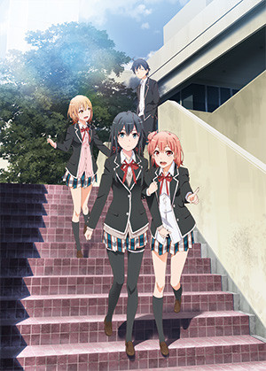 Capa do anime Yahari Ore no Seishun Love Come wa Machigatteiru. Zoku 2° temporada