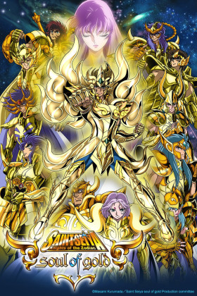 Capa do anime Saint Seiya: Soul of Gold