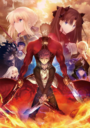 Capa do anime Fate/Stay Night: Unlimited Blade Works (2015) 2º Temporada
