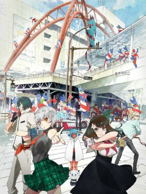 Capa do anime Gatchaman Crowds Insight