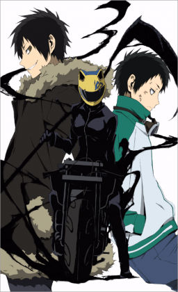 Capa do anime Durarara!!x2 Ten