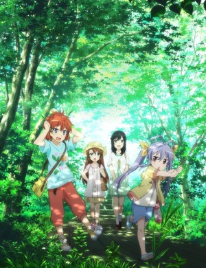 Capa do anime Non Non Biyori Repeat