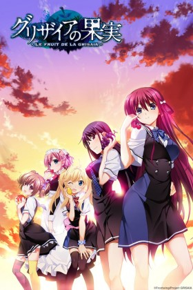 Capa do anime Grisaia no Kajitsu