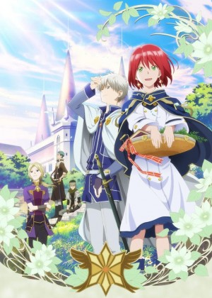 Capa do anime Akagami no Shirayuki-hime