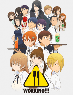 Capa do anime WORKING!!! 3° Temporada