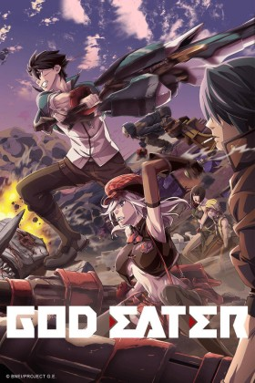 Capa do anime God Eater