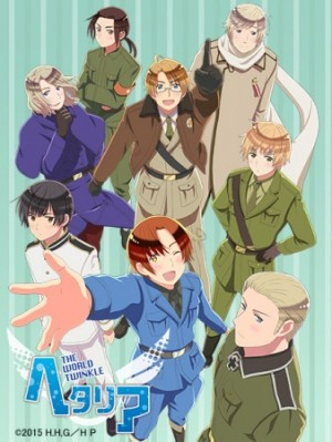 Capa do anime Hetalia: The World Twinkle