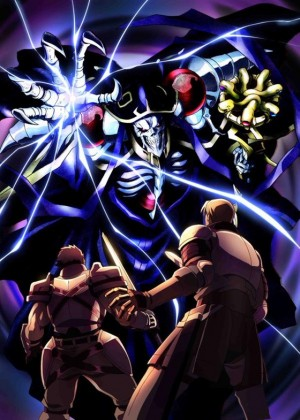 Capa do anime Overlord