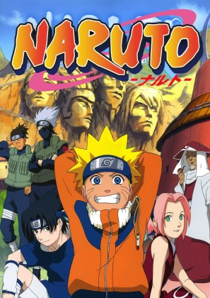 Capa do anime Naruto Clássico