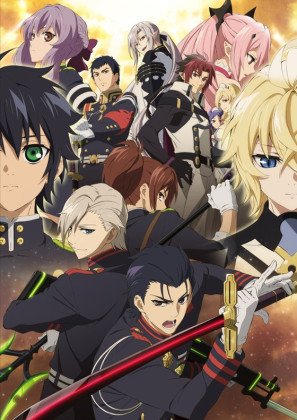 Capa do anime Owari no Seraph: Nagoya Kessen-hen 2° Temporada
