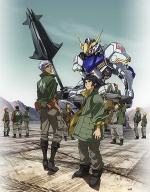 Capa do anime Kidou Senshi Gundam: Tekketsu no Orphans