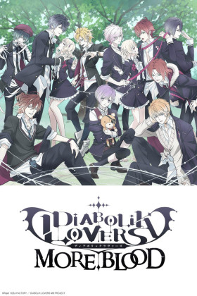 Capa do anime Diabolik Lovers More,Blood