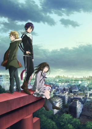 Capa do anime Noragami