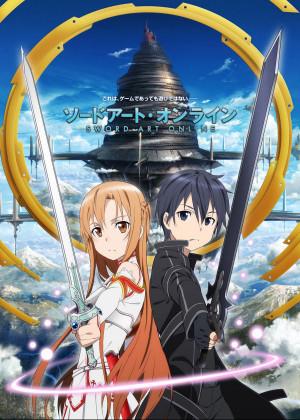 Capa do anime Sword Art Online