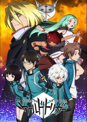 Capa do anime World Trigger: Toubousha Hen 2° Temporada
