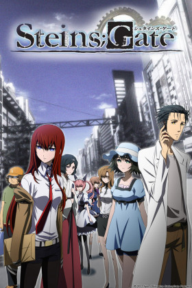 Capa do anime Steins;Gate