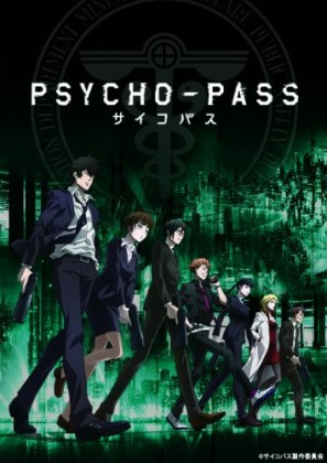 Capa do anime Psycho Pass