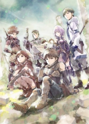 Capa do anime Hai to Gensou no Grimgar