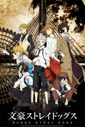 Capa do anime Bungou Stray Dogs