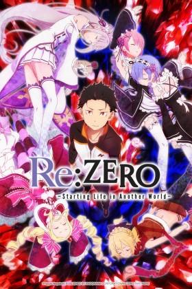 Capa do anime Re:Zero kara Hajimeru Isekai Seikatsu