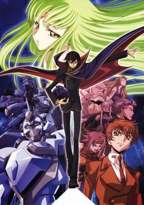 Capa do anime Code Geass: Hangyaku no Lelouch R1