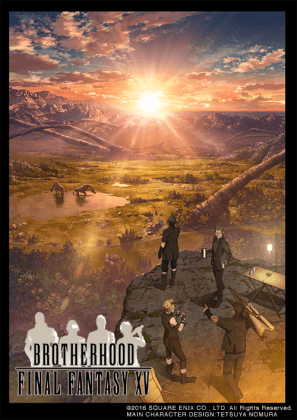Capa do anime Brotherhood: Final Fantasy XV