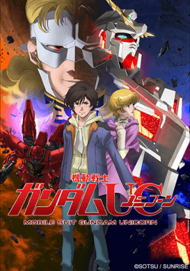 Capa do anime Mobile Suit Gundam Unicorn RE:0096