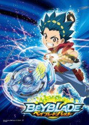 Capa do anime Beyblade Burst