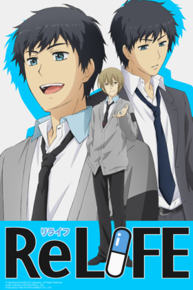 Capa do anime ReLIFE